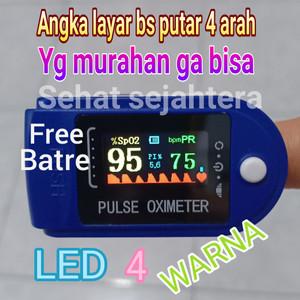 oximeter oxymeter fingertip pulse alat pengukur oksigen darah akurat