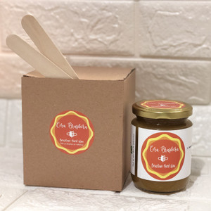 Natural Brazilian Hard Wax - Stripless. 220g - No Sugar (100% Honey).