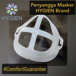 HYGIEN Penyangga Masker / Mask Bracket Tdk Pengap, Mudah Nafas