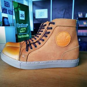 SULTAN BRODO FOOTWEAR ORIGINAL / SEPATU BOOT KULIT ASLI LIKE BRADLEYS