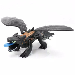 action figure how to train your dragon Mainan anak Toothless