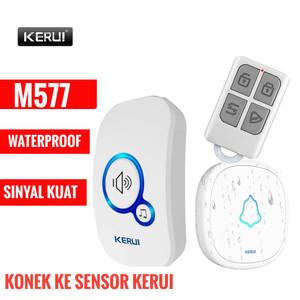 Bel Rumah Wireless Bel Pintu KERUI M577 Dengan Remote Waterproof