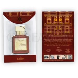 Parfum Gantung Mobil & Ruangan Pengharum BACCARAT Rouge FREE 2 REFILL