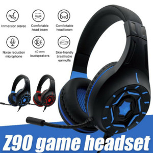 Headphone Gaming Z90 HP Headset Game Plus Mic Handsfree Microphone Pc