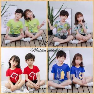 Baju Kaos Anak / Atasan Anak lucu 1-9tahun laki laki-perempuan