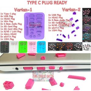 Dust Plug Laptop / Penutup Port Laptop / Anti Debu Universal