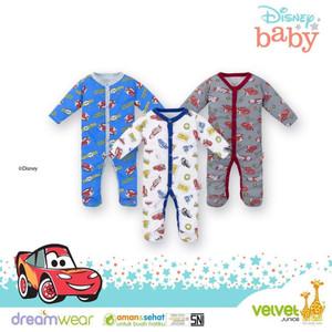 Velvet Junior Dreamwear Sleepsuit - Jumper Baby Bayi | Baju Tidur Bayi