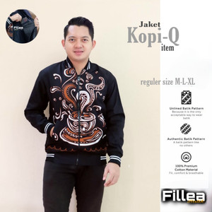 new jaket kopi unisex trendy bisa buat couple katun batik solo 930