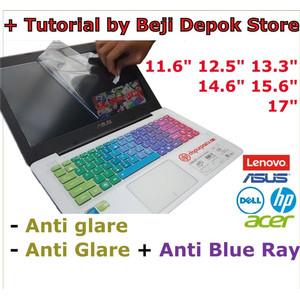 Screen guard anti gores laptop 11.6 12.5 13.3 14.6 15.6 doff radiasi