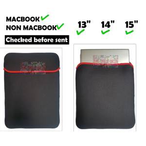 Laptop Sleeve Sarung Laptop 11.6 12.5 13.3 14.6 15.6 Universal