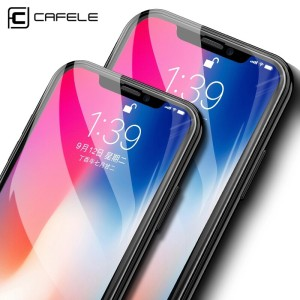 CAFELE Iphone XR, X/XS, XS MAX Tempered Glass 5D Full Cover [ORIGINAL]