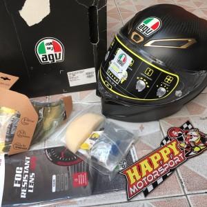 Helm Fullface AGV Pista Anniversary 70th 2018 carbonMatt size MS Italy