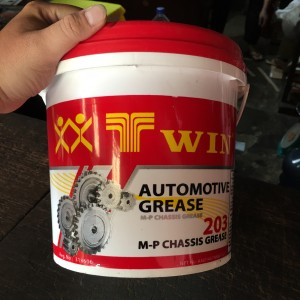 1 Ember Gemuk Grease Pelumas TWIN M-P Chassis Grease 203 Black MURAH