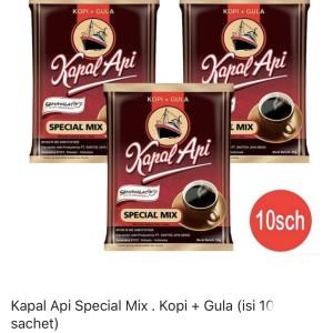 Kopi Kapal Api Spesial Mix 25 gram (1 renceng isi 10 sachet)