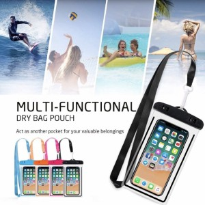 Casing plastik HP universal anti air waterproof diving swimming