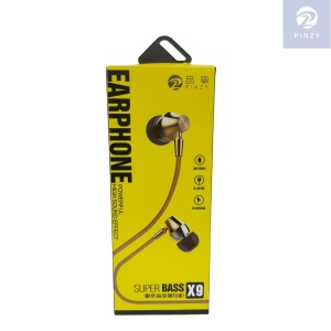 Earphone High sound Effect Super Bass PINZY Original X9 Series