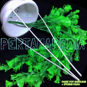 Bunga Plastik /Daun Rambat Plastik/ Rumput Plastik/ Stormi Hijau PG