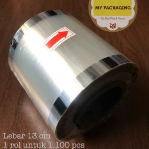 Tutup Gelas Plastik Cup Roll Lid Sealer Seal Press POLOS