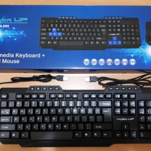 Keyboard Mouse Power Up Chroma 800 Combo