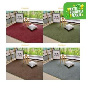 Karpet Bulu Sanitized 200 x 150 Multicolor Anti Slip - RANDOM