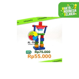 Mainan Edukasi Anak- Susun Balok Robot