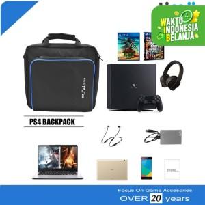 Tas Travel Carry Case Storage Bag PS4 Slim Carrying Cotton Shoulder
