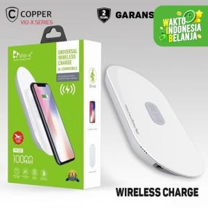 COPPER POWERBANK Wireless 10000 Mah