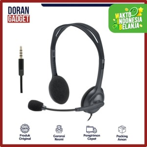 Logitech H111 Wired Stereo Headset with Noise Cancelling Microphone