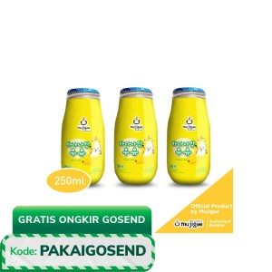 PAKET ISI 3 - Mujigae Banana Milk Original 250mL