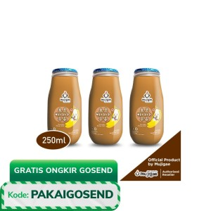 PAKET ISI 3 - Mujigae Banana Milk Chocolate 250mL