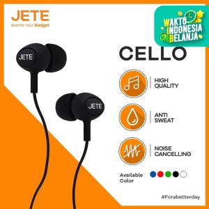 Handsfree / Headset / Earphone / EarPods JETE CELLO