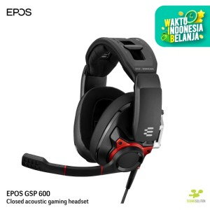 EPOS - GSP 600 Closes Acoustic Gaming Headset