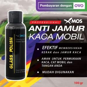 X-Mos Obat Anti Jamur kaca Mobil Glass Polish Pembersih Kaca