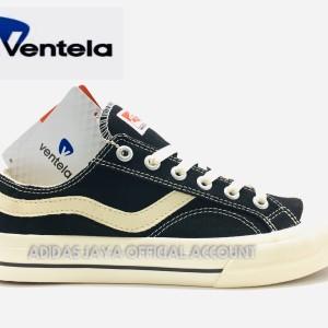 Sepatu Ventela Public Low Black natural Original product