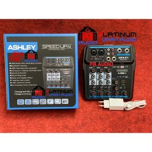 Mixer Audio ASHLEY Speed Up4 / Speed Up 4 Bisa Bluetoth,USB (ORIGINAL)