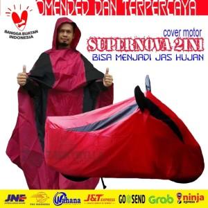 Selimut / Cover Motor 2in1 (Pasar Rebo, Depok, Cibinong)