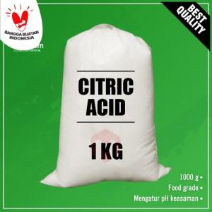 Citric Acid Monohydrate - Asam Sitrat - Asam Citrun 1 kg