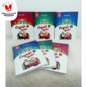 PAKET IQRA BALITA JILID 1 2 3 (Tiga Buku) Buku Mengenal Huruf Hijaiyah