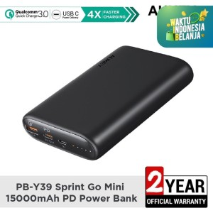 Aukey Powerbank PB-Y39 Sprint Go Mini 15000mAH PD - 500550