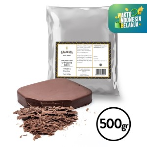 100% Dark Chocolate Couverture 500gr