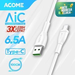 ACOME Kabel Data Fast Charging 65W Type-C Garansi Resmi 1 Tahun