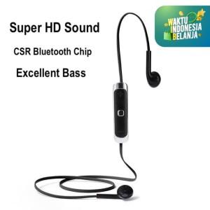 Comfortable Earpod Wireless Earphone M73 Sport Headset Bluetooth - Hitam