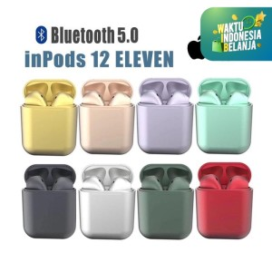InPods 12 ELEVEN Macaron Headset Bluetooth 5.0 InPods12 Bahan Dove - Yellow Gold