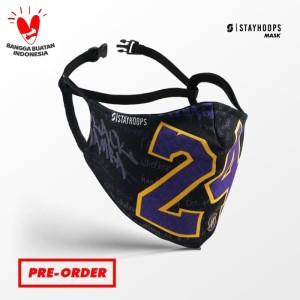Stayhoops - Masker Fullprint 2 Layer - Non Medis - Legacy 24