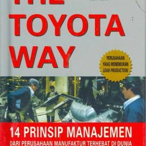 Paket 2buku Toyota Way + Toyota Way fieldbook - baru segel
