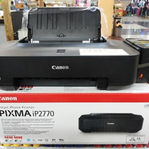 Printer Canon IP 2770 + infus Kotak Kunci
