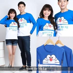 Jual kaos Doraemon | Kaos Pasangan | Kaos Lengan Panjang Pasangan