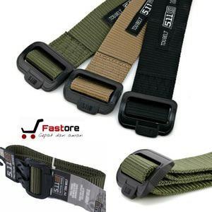 Sabuk Army 511 Kode 2   Tactical Belt Gesper Ikat Pinggang 511 kode 2
