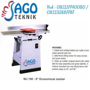 "Mesin Wood Jointer 6"" WJ150 / WJ 150 OSCAR"