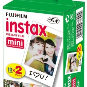Isi Refill Fujifilm Instax Mini Polaroid Twinpack isi 20 lembar Polos